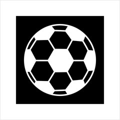 Football Icon, Soccer Ball Design