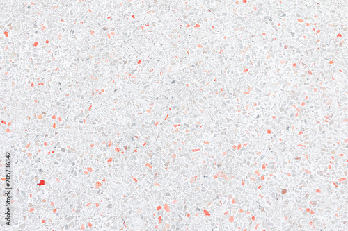 Terrazzo Flooring Or Marble Old Polished Stone Wall