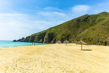 Ky Co island Ky Co Beach the wild beach in Binh Dinh Viet Nam