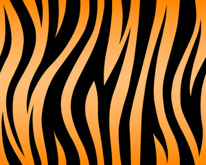 stripe animal jungle tiger fur texture pattern black orange yellow seamless repeat