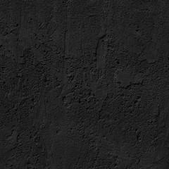 black concrete uneven cracked background.