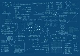 math formula background