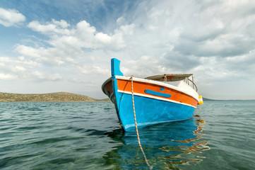 Wooden fish boat