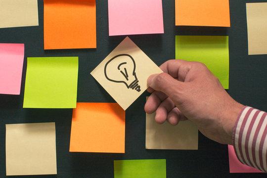 Ideas on the board