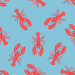 simple lobster pattern