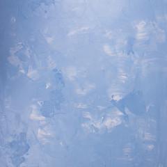 Colorful blue empty concrete background