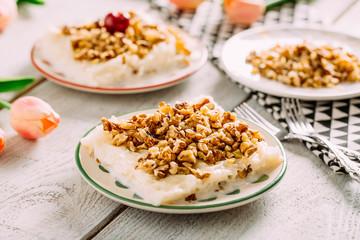 Traditional Ramadan Dessert Gullac