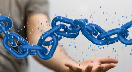 blockchain 3d