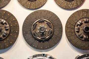 Clutch disc for a car engine.