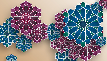 Islamic Geometric Pattern, Islamic Geometric Background