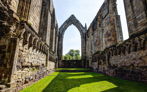 Bolton Abbey, Yorkshire,Great Britain.