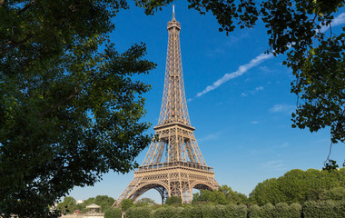 The Eiffel tower is the most popular travel place and global cultural icon of the France and the world.