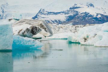Jokulsarlon Glacier Lagoon Lake, Iceland