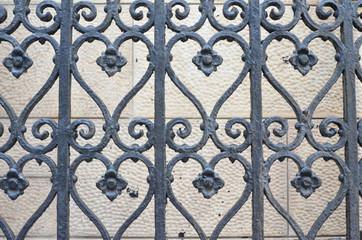 Black Gothic Fence 1
