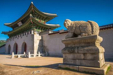 .Gyeongbokgung Palace in Seoul,South Korea.