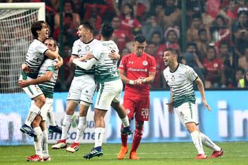 Football Soccer - Mexican First Division Final Second Leg - Toluca v Santos Laguna
