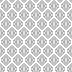 simple shapes. black and white illustration. vector seamless pattern.