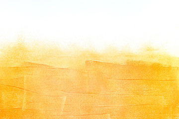 orange painted wall with brushstroke textured background