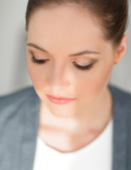 """face business woman .makeover in the style of """"business"""""""