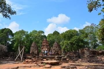 カンボジアのロリュオス遺跡群~プリア・コー