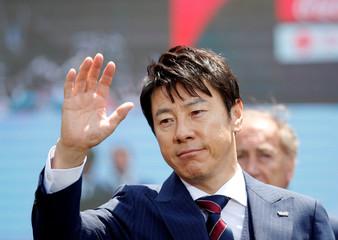 South Korea men's national football team head coach Shin Tae-yong attends their inaugural ceremony in Seoul
