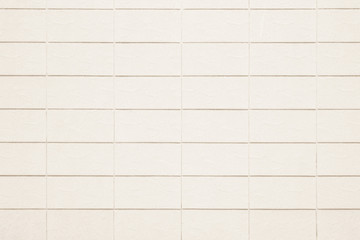 White and Cream the tile wall high resolution real photo or brick seamless and texture interior background.