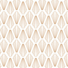 Art deco, retro, vintage, seamless pattern.