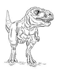 vector - dinosaur
