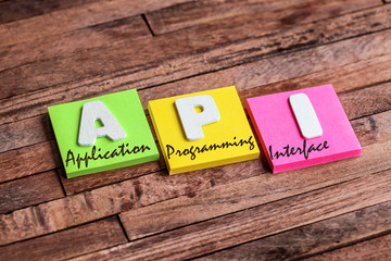 post-it acronym : API