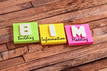post-it acronym : BIM