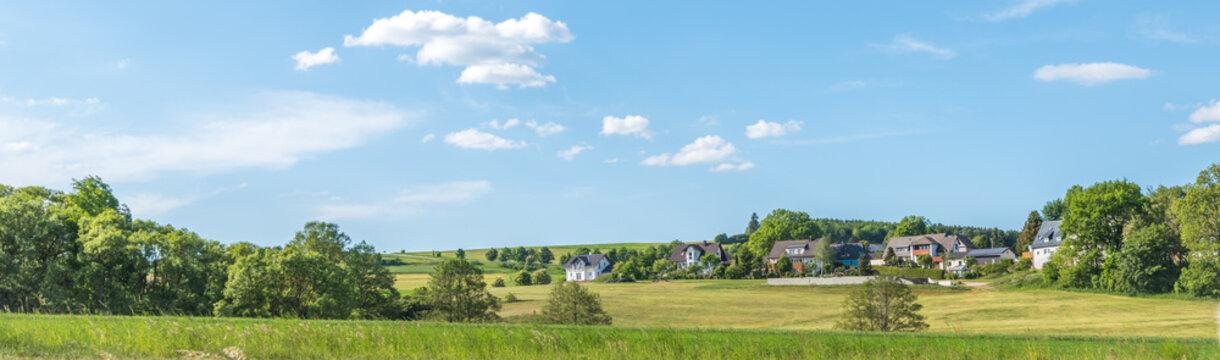 Wohnen im Grünen, Panorama