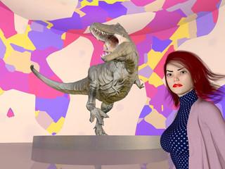 Tyrannosaurus Rex im Museum