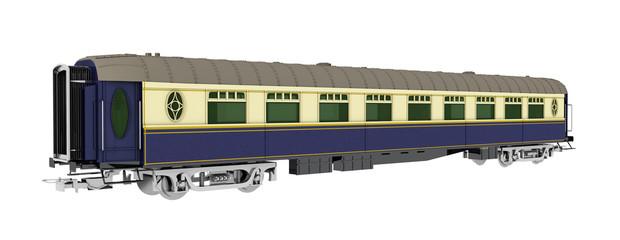 Eisenbahnwagen, Freisteller