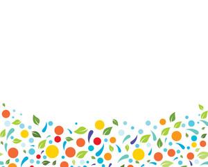 Eco nature Leaf Background Vector Illustration