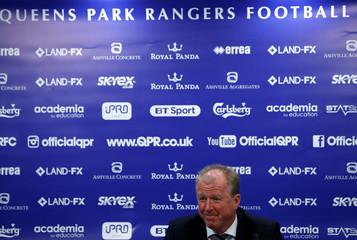 Championship - Queens Park Rangers Manager Steve McClaren Press Conference