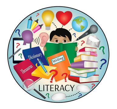 Literacy icon