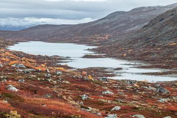 Lake Heillstuguvatnet in Norway