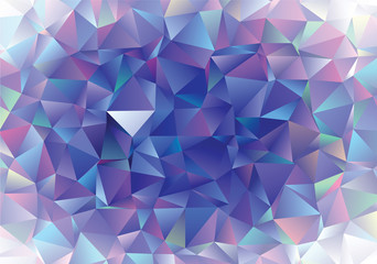 Creative polygonal abstract background. Low poly crystal pattern. The best template for  your design works.