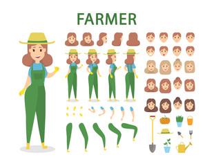 Farmer character set.