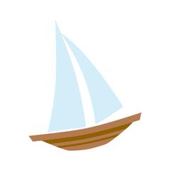Sailboat clip art icon
