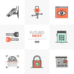 Privacy Protection Futuro Next Icons