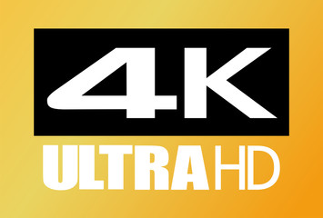 4k ultra hd vector