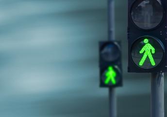 Fotomurales - traffic lights on the street