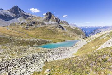 Lai Alv, Albula Pass, Engadin Valley, Graubünden, Switzerland, Europe.