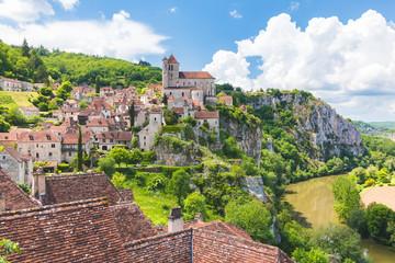 Wall Mural - Saint-Cirq-Lapopie - Lot - Les Plus Beaux Villages de France