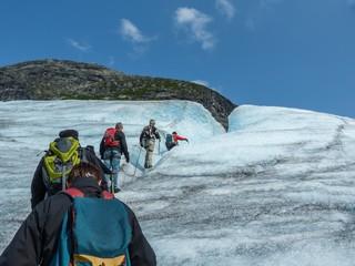 Nigardsbreen Gletscher in Sogn Fjordane - Norwegen