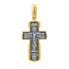 Jewelry - Religious pendant made of gold on a white background