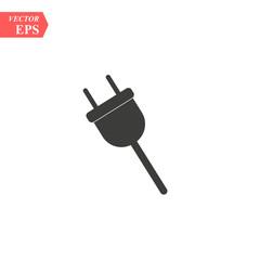 Electric plug icon. Vector concept illustration for design. eps 10