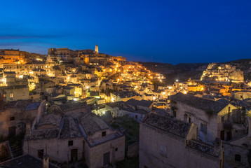 "Matera (Basilicata) - The historic center of the wonderful stone city of southern Italy, a tourist attraction for the famous ""Sassi"" old town."