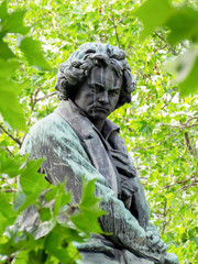Photo sur Plexiglas Commemoratif Beethoven Denkmal Wien